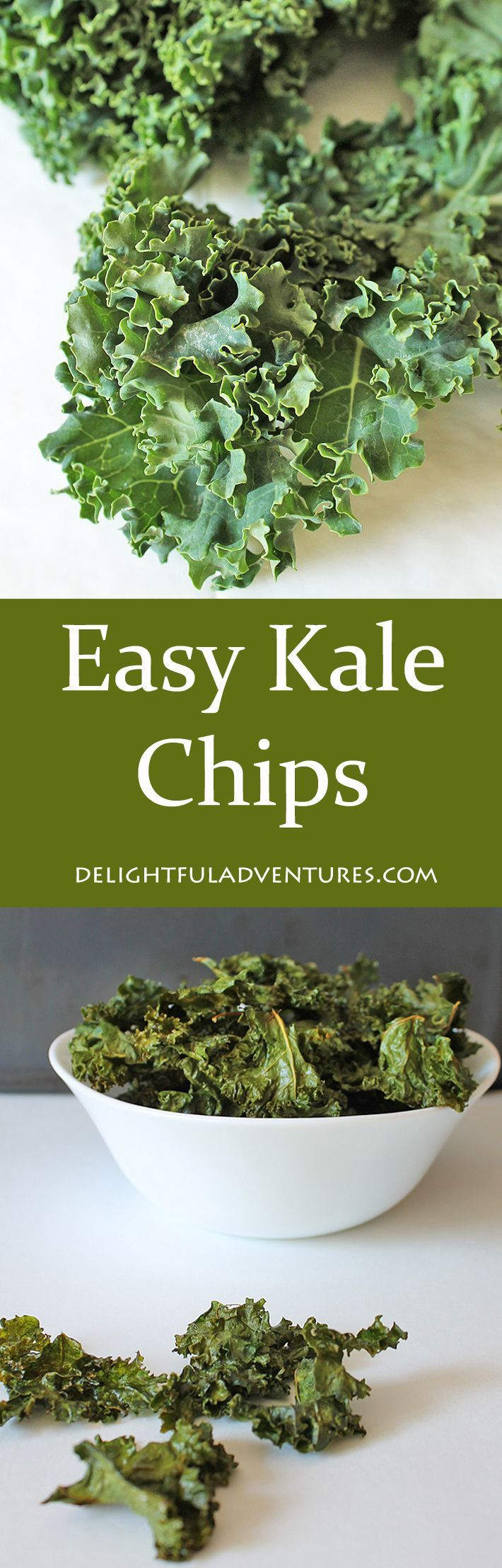 Searching for a recipe for easy kale chips? Search no more, this is it! Plus, learn the trick to retaining the nutrition in your baked kale chips.