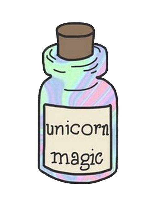 Unicorn Magic sticker
