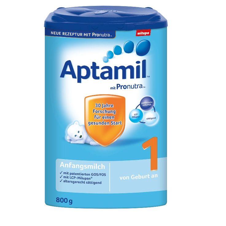 Aptamil Formula USA Seller Milupa First Milk from Birth No. 1 800g German.