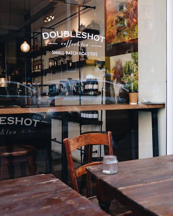 Doubleshot Coffee & Tea. Nice photo via Manmake Coffee.