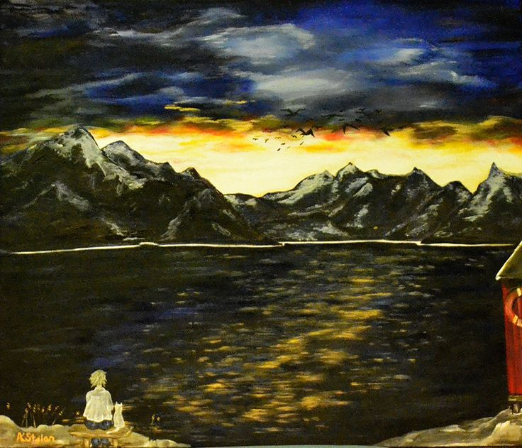 Lonely www.artstolan.com oil on canvas