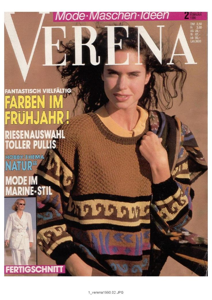 Verena №2 1990 Journal of knitting...