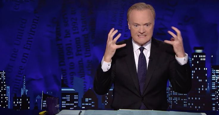 MSNBC's Lawrence O'Donnell ~ watch the footage of this grown man having a total meltdown temper tantrum!  This guy needs help. He seems a little tense.