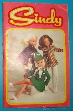 Catálogo de vestuario Muñeca Sindy de Florido de 1974