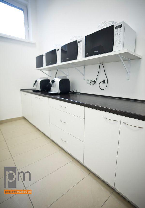 Aneks kuchenny dla biura typu open space , http://www.projektmebel.pl/realizacje/coig