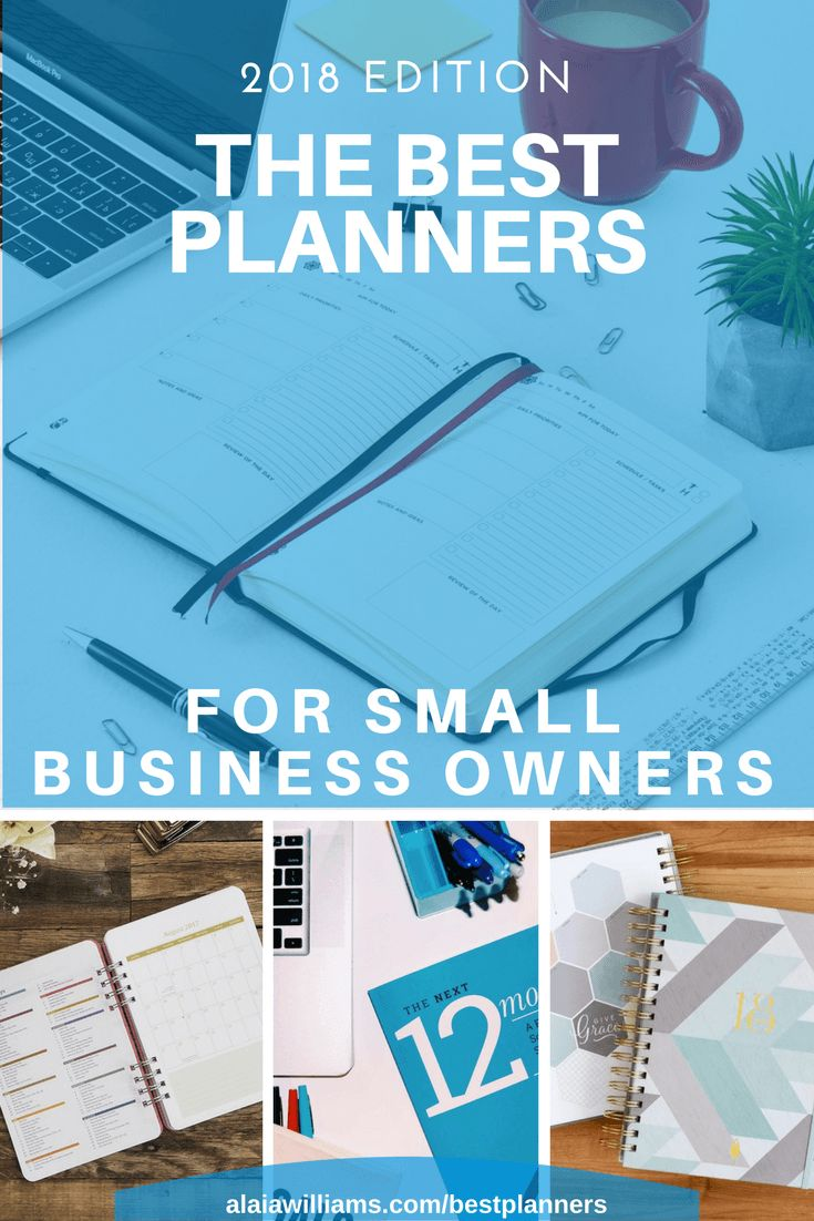 Are you an entrepreneur, business owner or freelancer in search of a great new planner? Check out this list of best planners for small business owners - 2018 edition!