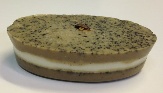 Goats Milk Coffee and Sea Salt Soap by CreativeSimpleLiving