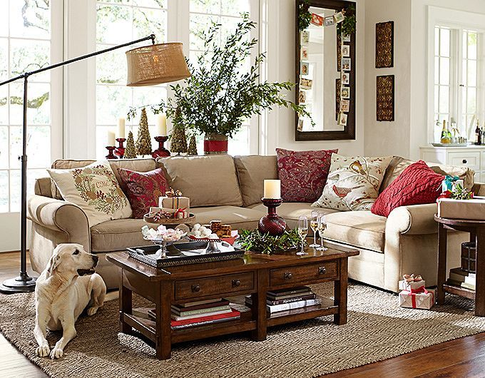 #potterybarn  front Living Room