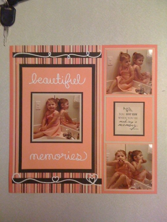 Beautiful memories page
