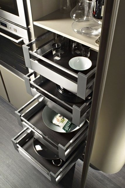 Contemporary Lacquer Kitchen (with Island)   CODE EVOLUTION   SNAIDERO. Moderne  Küche DesignsModerne ...