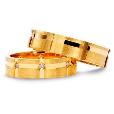 #aliança boda or #alianza boda oro Ref: 111400A-DIA