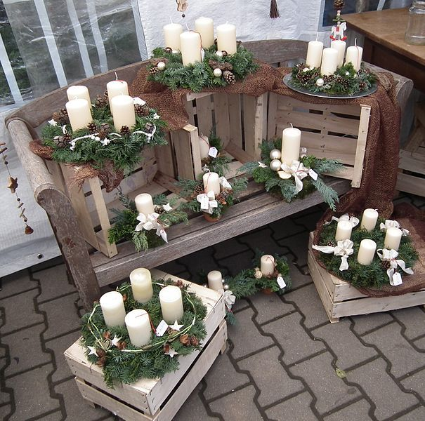 Pocket-German: Der Adventskranz - The Advent wreath