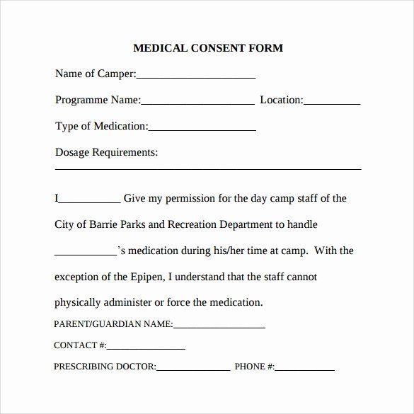 Medical Consent Form Template Awesome Free 6 Sample Medical Consent Forms In Pdf Consent Forms Mission Statement Examples Free Business Proposal Template