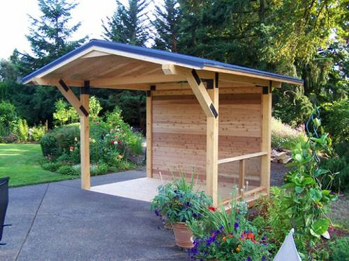 Backyard Shelter Plans