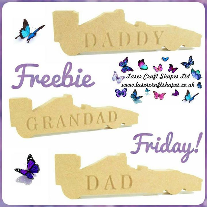 It's FREEBIE FRIDAY Time!  For a chance to win one of our freestanding cars perfect for fathers day simply    LIKE this post  Comment with CONGRATULATIONS!  SHARING is caring but not a condition of entry  TAG up to 3 friends to increase your chances of winning more than one car! this isn't compulsory but fun to do :)  Please be A LIKER of our page again this isn't compulsory but how will you know if you've won!    Terms and conditions apply  Giveaway will close on Tuesday 2nd May 10.00am and…