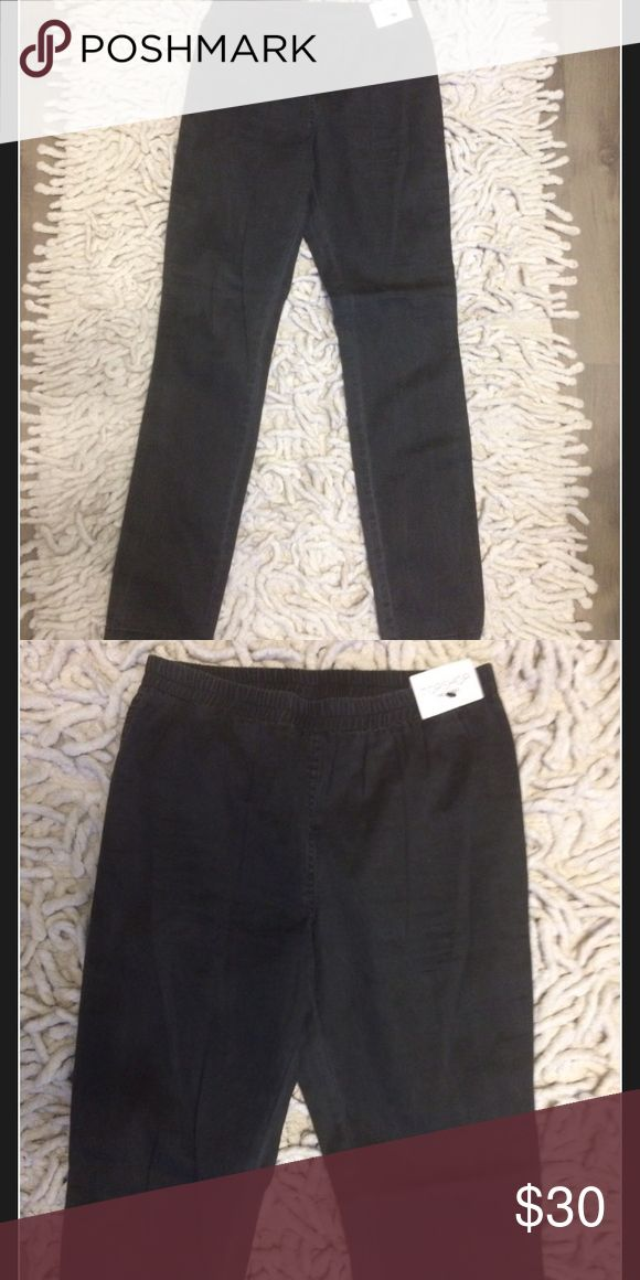 NWT Topshop Cotton Tregging Dark Grey size 8 (S-M) NWT Topshop Cotton Tregging Dark Grey size 8 (S-M) Topshop Pants Skinny
