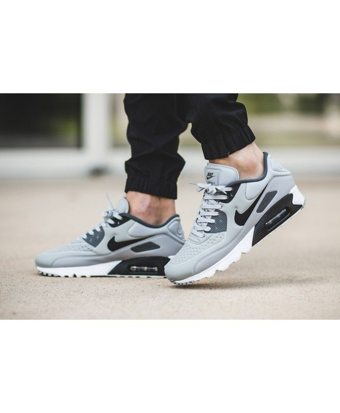 Nike Air Max 90 Ultra SE Mens Running Trainers Wolf Grey