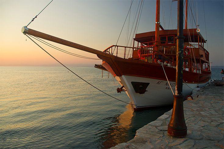 Greek sunset - Pefkohori, Halkidiki