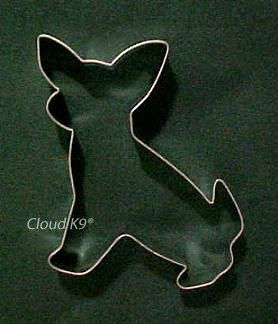 CHIHUAHUA Dog COOKIE CUTTER for Dog Biscuits, Treats, Crafts, Birthday Cookies ( Hand Soldered for Extra Quality ). $8.50, via Etsy.