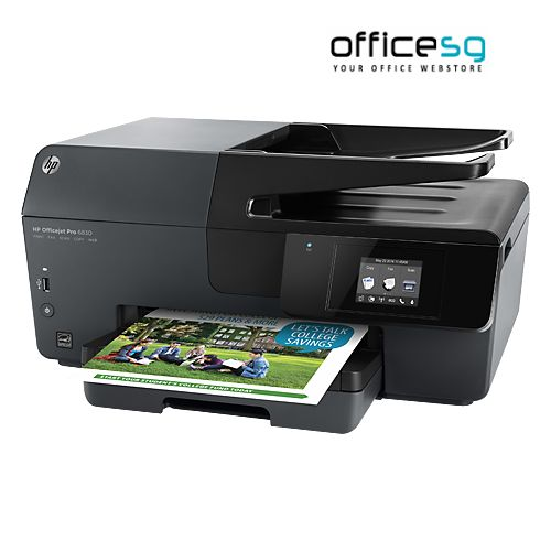 Buy HP Officejet PRO 6830 e-All-in-One Printer Online. Shop for best All In One Printers online at Officesg.com. Discount prices on Office Technology Supplies Singapore, Free Shipping, COD.
