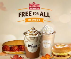 Wawa Rewards Free for All October - http://www.momscouponbinder.com/wawa-rewards-free-october/
