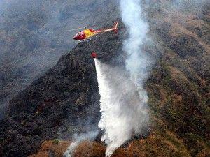 Cazuza: Após um mês, incêndio volta a atingir Serra da Can...