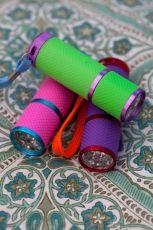 Rice RICE - Liten ficklampa - 3 olika färger