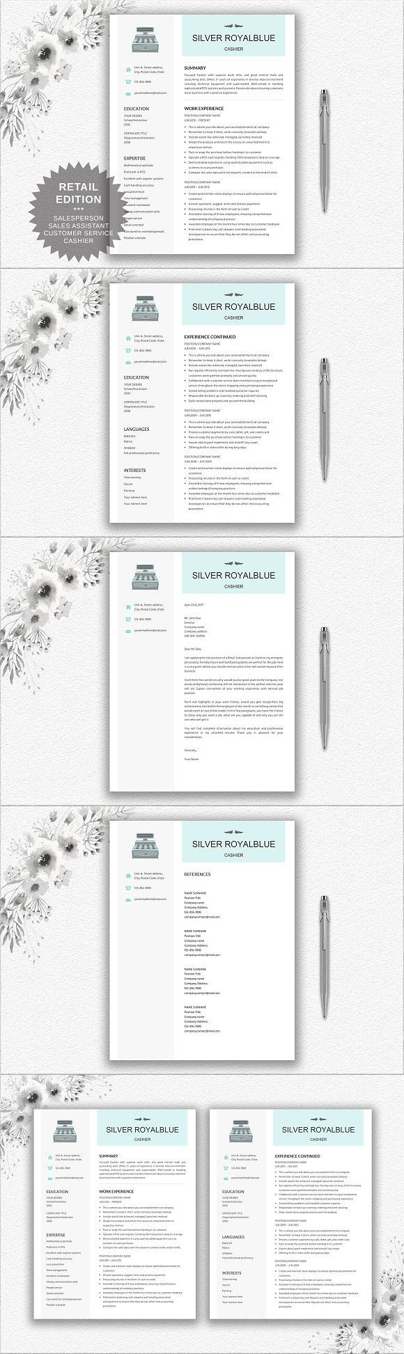 Resume for Cashier | Retail | Sales. Resume Templates