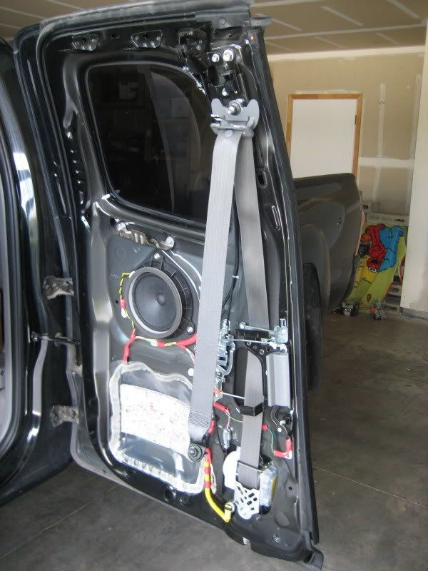 Diy Basic Speaker Upgrade 2nd Gen Access Cab Access Cab Tacoma Access Cab Cab