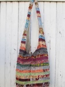 Sari shoulder long bag