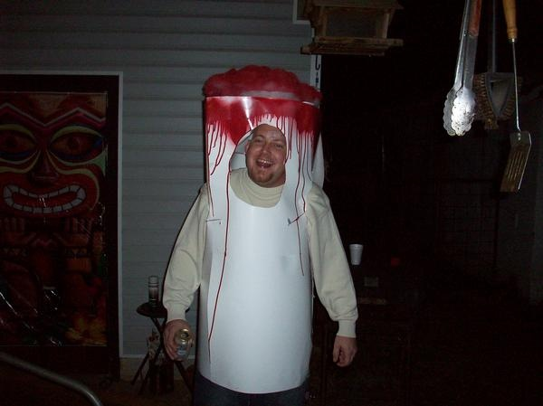 how to make a tampon costume