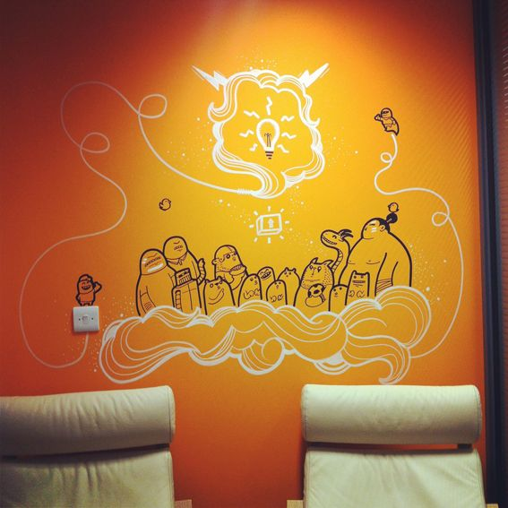 21 best Wall Art images on Pinterest   Murals, Wall paintings and ...