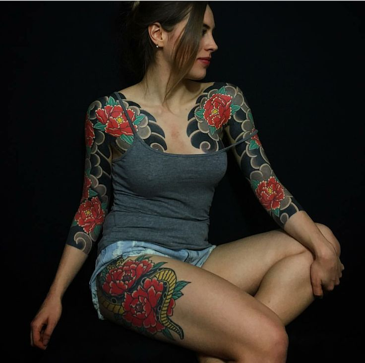 966 Best Images About Japanese Full Body Tattoo On