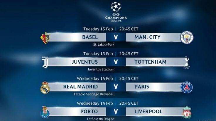 Champions League: partidos resultados horarios y canal de televisión
