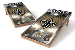 New Orleans Saints Single Cornhole Board - Plate