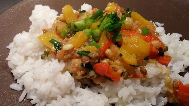 Krewetki z warzywami - prosty przepis
