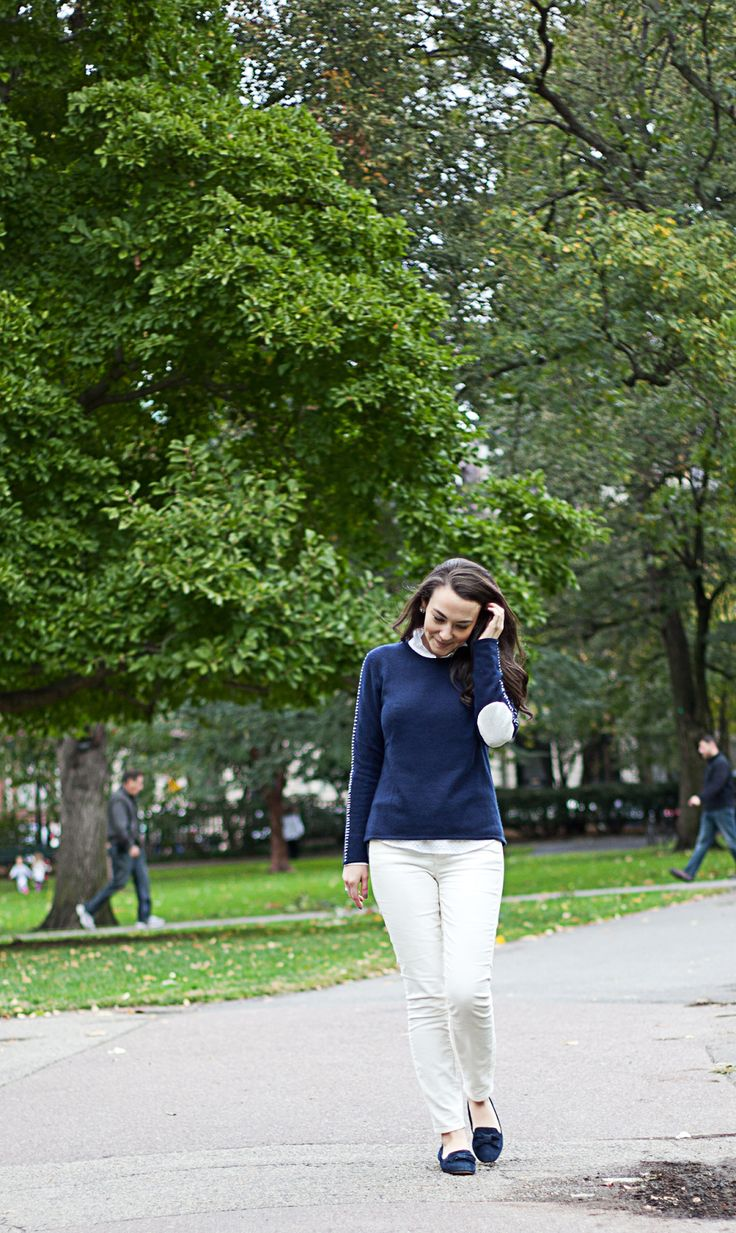 College Prepster: Cashmere Anchor Sweater