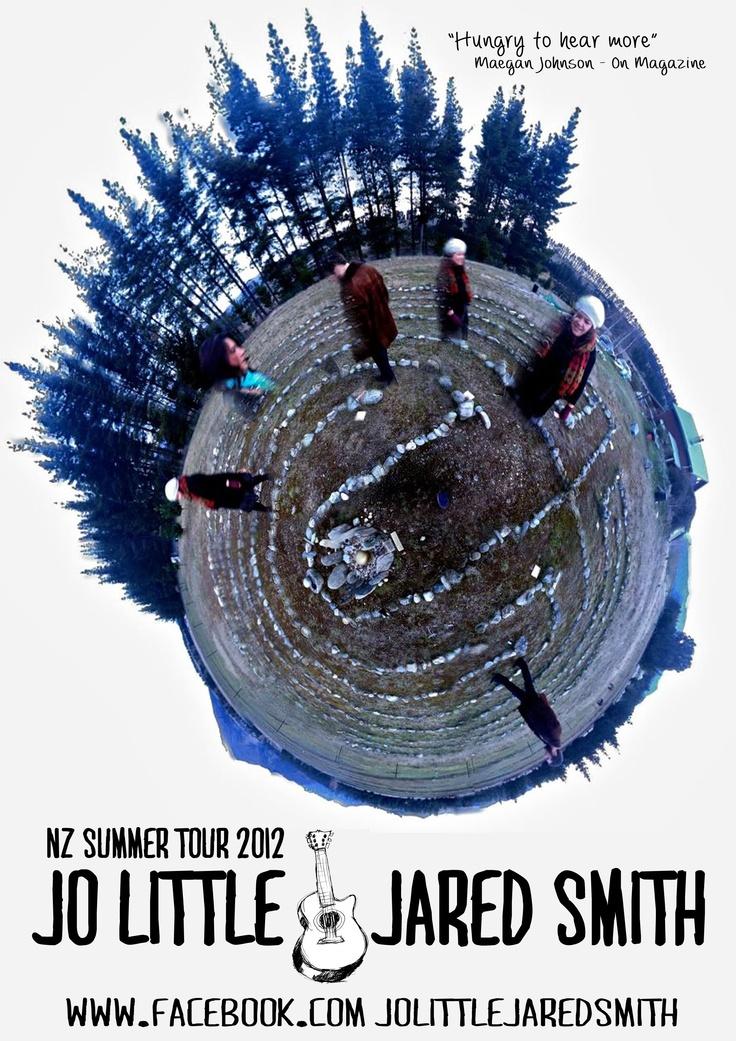 Jo Little & Jared Smith NZ Summer Tour 2012