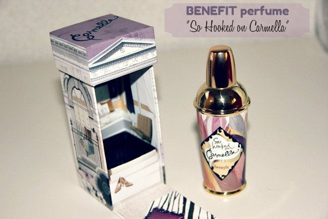 BENEFIT perfume: So hooked on Carmella