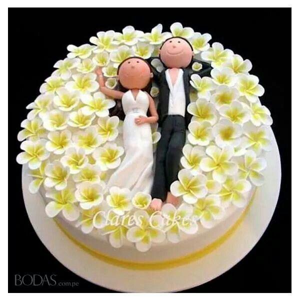 10 best muñequitos images by Raquel on Pinterest | Cake wedding ...