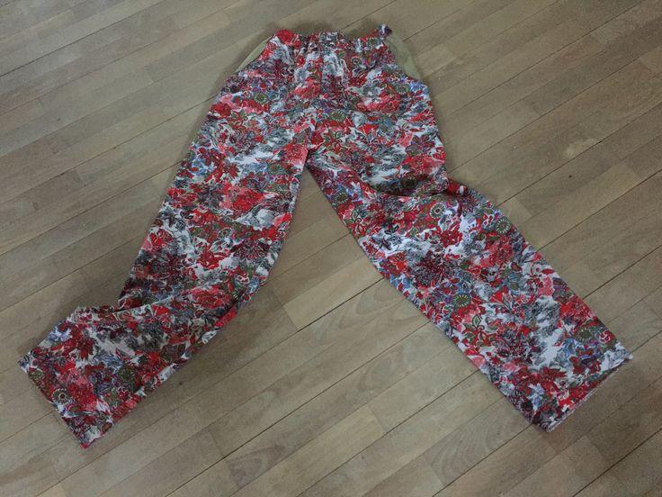 Pyjamasbukser - med lommer i kontrastfarve 😊