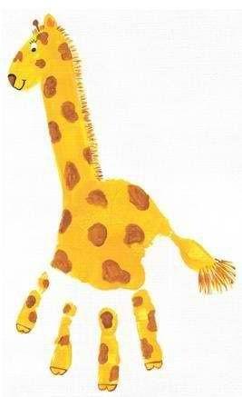 Giraffe craft <3