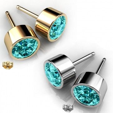 Buy Rhodium Plated Aquamarine Color Stud Earrings made with Swarovski Crystals (GE009AQ) Online at http://www.glimmering.co.in/ #cheapswarovskiearrings #discountswarovskiearrings #swarovskiindiaonlineshopping #swarovskijewelryindiastores #swarovskiindia #indianswarovskijewellery #swarovskistudearringsindia #swarovskicrystalstore