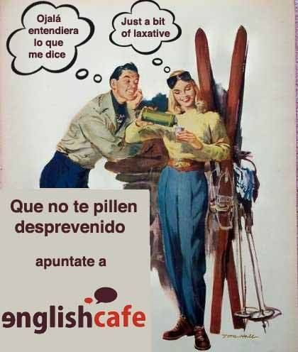 Aprende #ingles con #Englishcafe