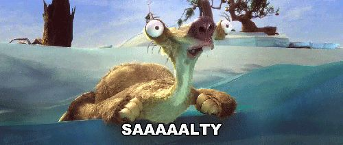 Ice Age: Continental Drift.....Best moment EVER!!!! Seriously Sid makes this movie