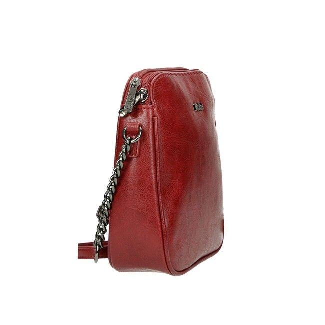 Robel dámska štýlová crossbody kabelka - červená  2c0a18699fe