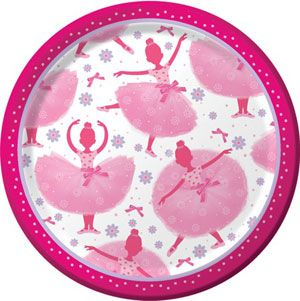 20415905 - Tutu Much Fun Luncheon Plates. Please note: approx. 14 day delivery time. www.facebook.com/popitinaboxbusiness