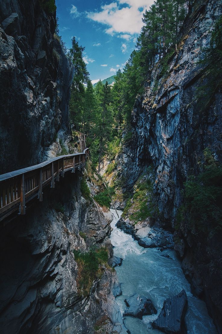 #gornerschlucht #zermatt #switzerland