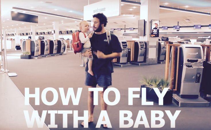Comment prendre l'avion avec un bébé – VIDÉO