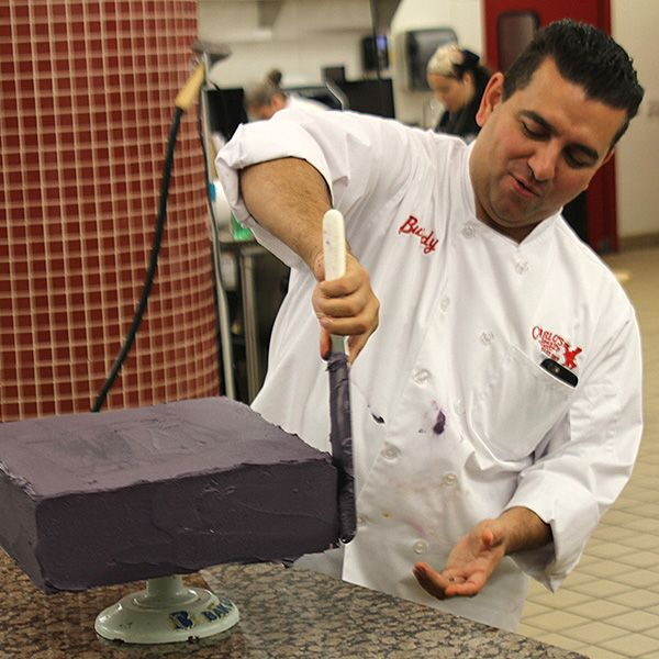 Buddy shows us how to ice a cake! #CakeBoss